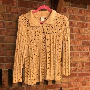 Sweater-light brown